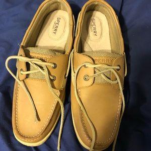 Sperrys women's bluefish 2-eye boat shoes 10w